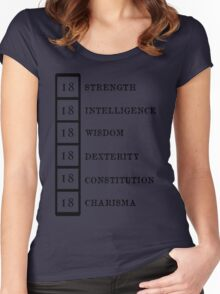 Dungeon Master Women's Fitted Scoop T-Shirt