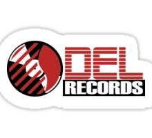 DEL Records Sticker