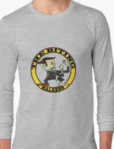 The Fighting Walkers with Logo Long Sleeve T-Shirt