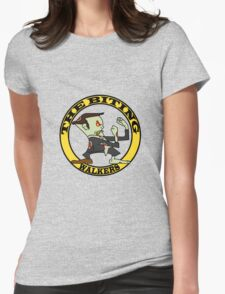 The Fighting Walkers with Logo Womens Fitted T-Shirt