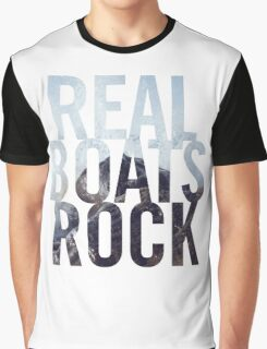 Real Boats Rock Graphic T-Shirt