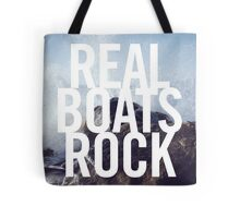 Real Boats Rock Tote Bag