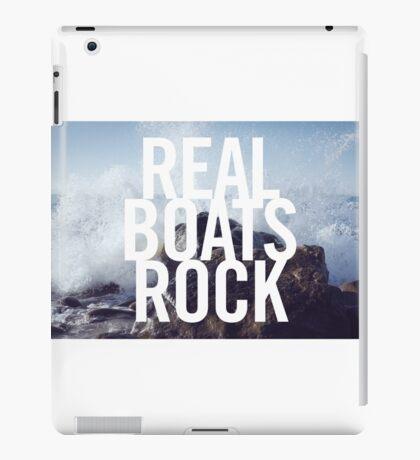 Real Boats Rock iPad Case/Skin