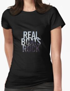 Real Boats Rock Womens Fitted T-Shirt