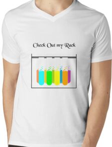 Check Out My Rack Mens V-Neck T-Shirt