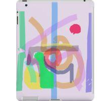 Colorful Gray iPad Case/Skin