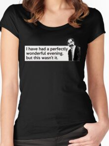 Groucho quote Women's Fitted Scoop T-Shirt