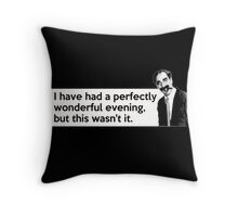 Groucho quote Throw Pillow