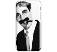 Groucho quote iPhone Case/Skin