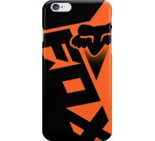 Shiv Black Orange iPhone Case/Skin