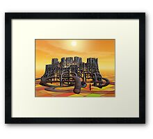 TH9 Framed Print