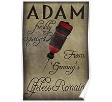 Adam - Bioshock Poster