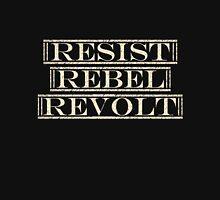Resist, Rebel, Revolt Zipped Hoodie