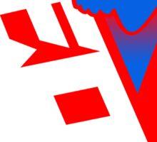 Shiv Red Sticker