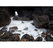 sea cave Photographic Print