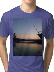Fishing Tri-blend T-Shirt
