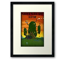 The Tree house - Adventure Time Framed Print