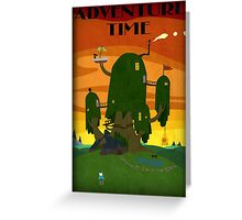 The Tree house - Adventure Time Greeting Card
