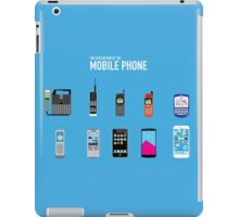 Evolution Of The Mobile Phone iPad Case/Skin