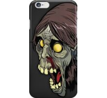 Green Zombie Head iPhone Case/Skin