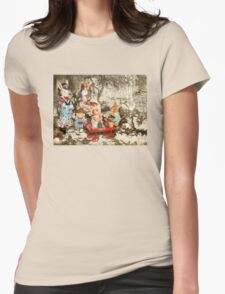 Picnic in the Park Womens Fitted T-Shirt