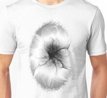 Ghost Flower Fractal Unisex T-Shirt