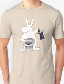 Rabbit and magician Unisex T-Shirt