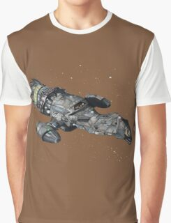Firefly Serenity Space Ship Graphic T-Shirt
