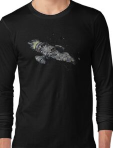 Firefly Serenity Space Ship Long Sleeve T-Shirt