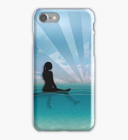View from a Surfboard iPhone Case/Skin