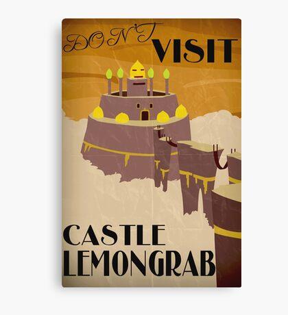 Castle Lemongrab - Adventure Time Canvas Print
