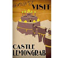 Castle Lemongrab - Adventure Time Photographic Print