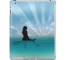 View from a Surfboard iPad Case/Skin