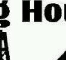 Dog House Sticker