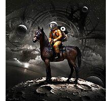 Space Tourist Photographic Print