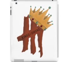Kings & Queens iPad Case/Skin