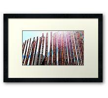 Strips of Film 2 Framed Print
