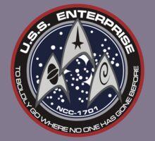 U.S.S. Entrerprise logo Kids Tee