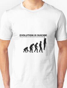 Evolution is Suicide T-Shirt