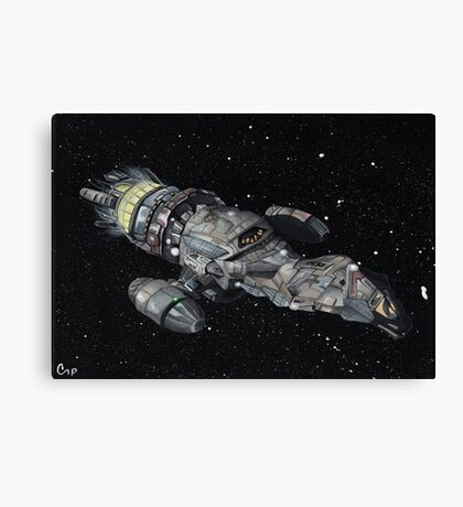 Firefly Serenity Space Ship! Canvas Print