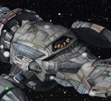 Firefly Serenity Space Ship! Sticker