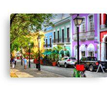 San Juan Street Canvas Print