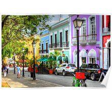 San Juan Street Poster