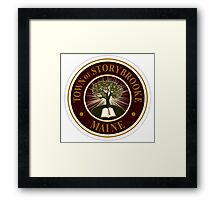 Once upon a time- Storybrooke Framed Print