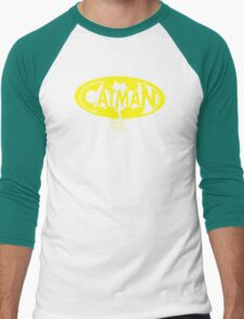 cat man Men's Baseball ¾ T-Shirt