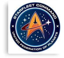 Starfleet Command  Canvas Print