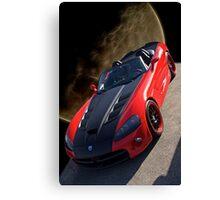 20XX Dodge Viper 'Moon Walk' Canvas Print