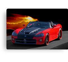20XX Dodge Viper II Canvas Print