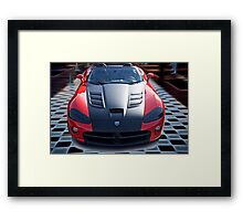 20XX Dodge Viper 'Winner Takes All' Framed Print