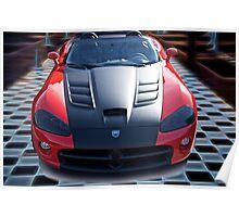 20XX Dodge Viper 'Winner Takes All' Poster